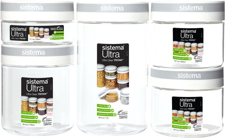 Набор контейнеров Sistema, цвет: прозрачный, 5 шт51365Идеальный выбор для людей, предпочитающих здоровый образ жизни. Освежающие и фруктовые напитки с собой – съемный диффузор.Не царапается и не бьется – высококачественный ударопрочный тритан. Удобно брать с собой – не протекает. Дополнительное удобство – интегрированная петелька для пальца. Видно содержимое и его объем – прозрачный тритан. Удобно пить – широкий носик, через который свободно проходит жидкость. Легко наполнять и мыть – откручивающаяся крышка и широкая горловина. Подходит для использования в холодильнике и морозильной камере. Легко моется – можно мыть в посудомоечной машине. Безопасный – не содержит бисфенол А и фталаты. Разработано и произведено в Новой Зеландии.