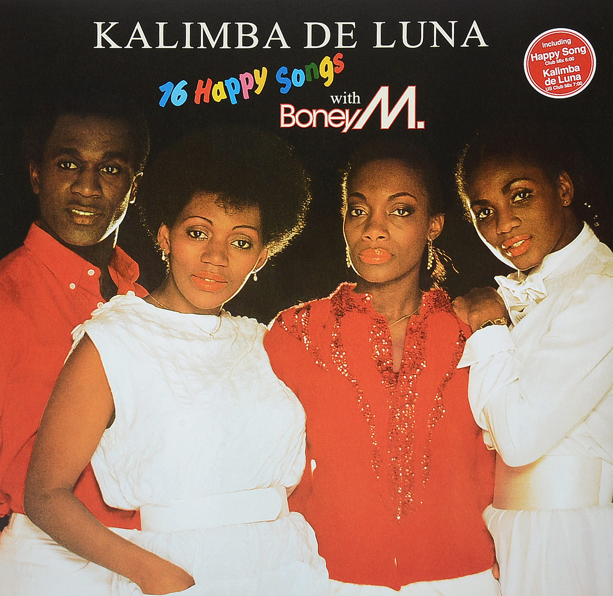 Boney M Boney M. Kalimba De Luna (LP) boney m – nightflight to venus lp