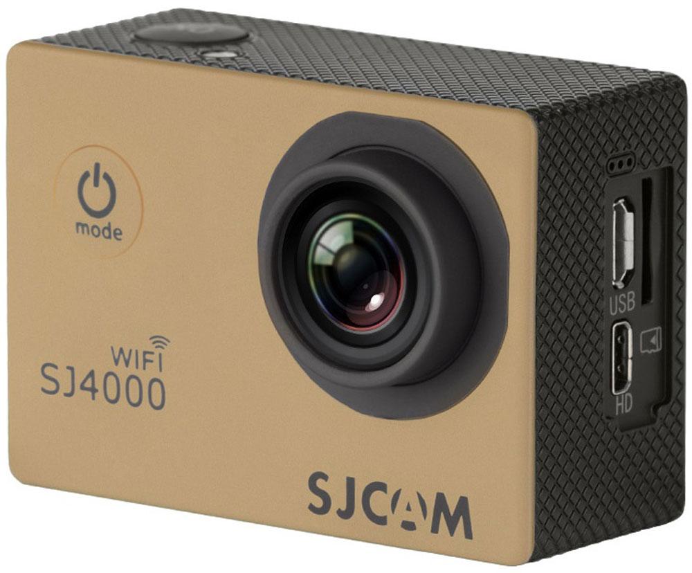 Zakazat.ru SJCAM SJ4000 Wi-Fi, Gold экшн-камера