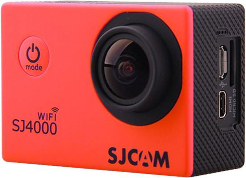 SJCAM SJ4000 Wi-Fi, Red экшн-камера