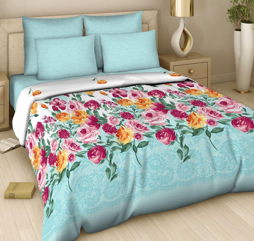 """Комплект постельного белья Арт Деко """"Акварельный бриз"""" изготовлен из натуральных и качественных материалов, поможет вам расслабиться и подарит спокойный сон.  Постельное белье имеет и привлекающий внешний вид, отлично стирается, гладится, быстро сохнет. Благодаря такому комплекту постельного белья вы сможете создать атмосферу уюта и комфорта в вашей спальне."""