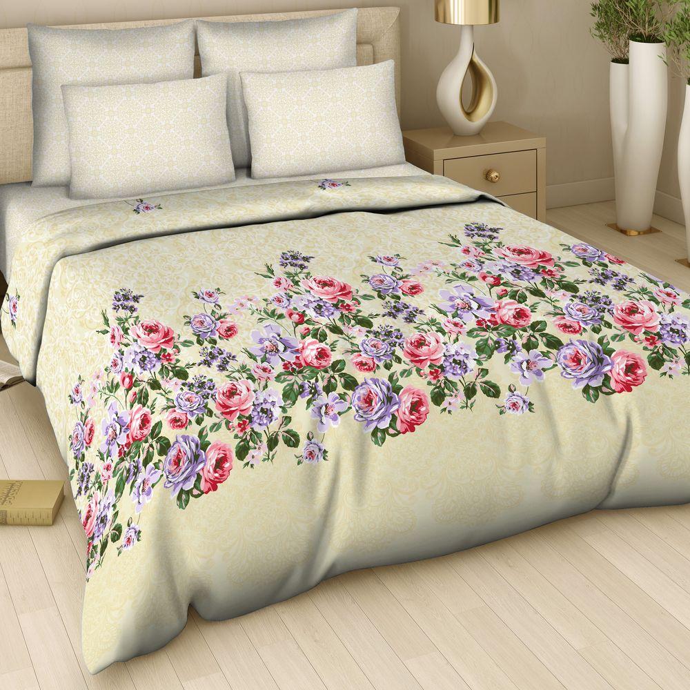"""Комплект постельного белья Арт Деко """"Украшение"""" изготовлен из натуральных и качественных материалов, поможет вам расслабиться и подарит спокойный сон.  Постельное белье имеет и привлекающий внешний вид,  отлично стирается, гладится, быстро сохнет. Комплект состоит из 2-х пододеяльников, 1-ой простыни и 2-х наволочек.  Благодаря такому комплекту постельного белья вы сможете создать атмосферу уюта и комфорта в вашей спальне."""