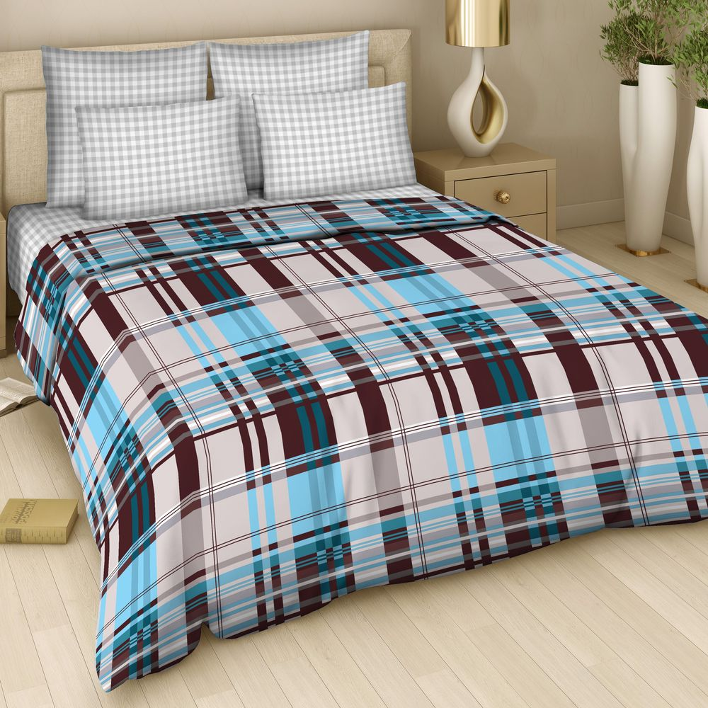 """Комплект постельного белья Арт Деко """"Диалог"""" изготовлен из натуральных и качественных материалов, поможет вам расслабиться и подарит спокойный сон.  Постельное белье имеет и привлекающий внешний вид,  отлично стирается, гладится, быстро сохнет. Благодаря такому комплекту постельного белья вы сможете создать атмосферу уюта и комфорта в вашей спальне."""