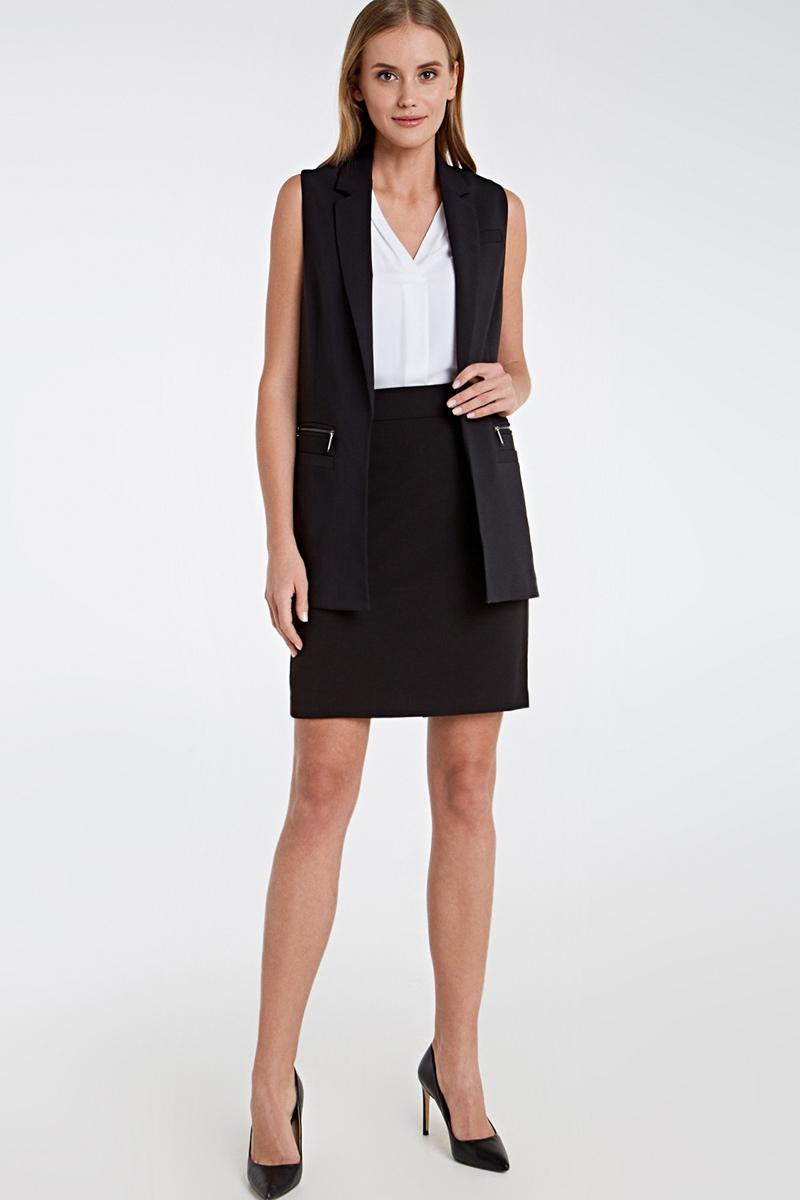 Блузка женская Concept Club Elros, цвет: белый. 10200270160_200. Размер XL (50) блузка женская concept club bask цвет черный 10200260168 размер xl 50