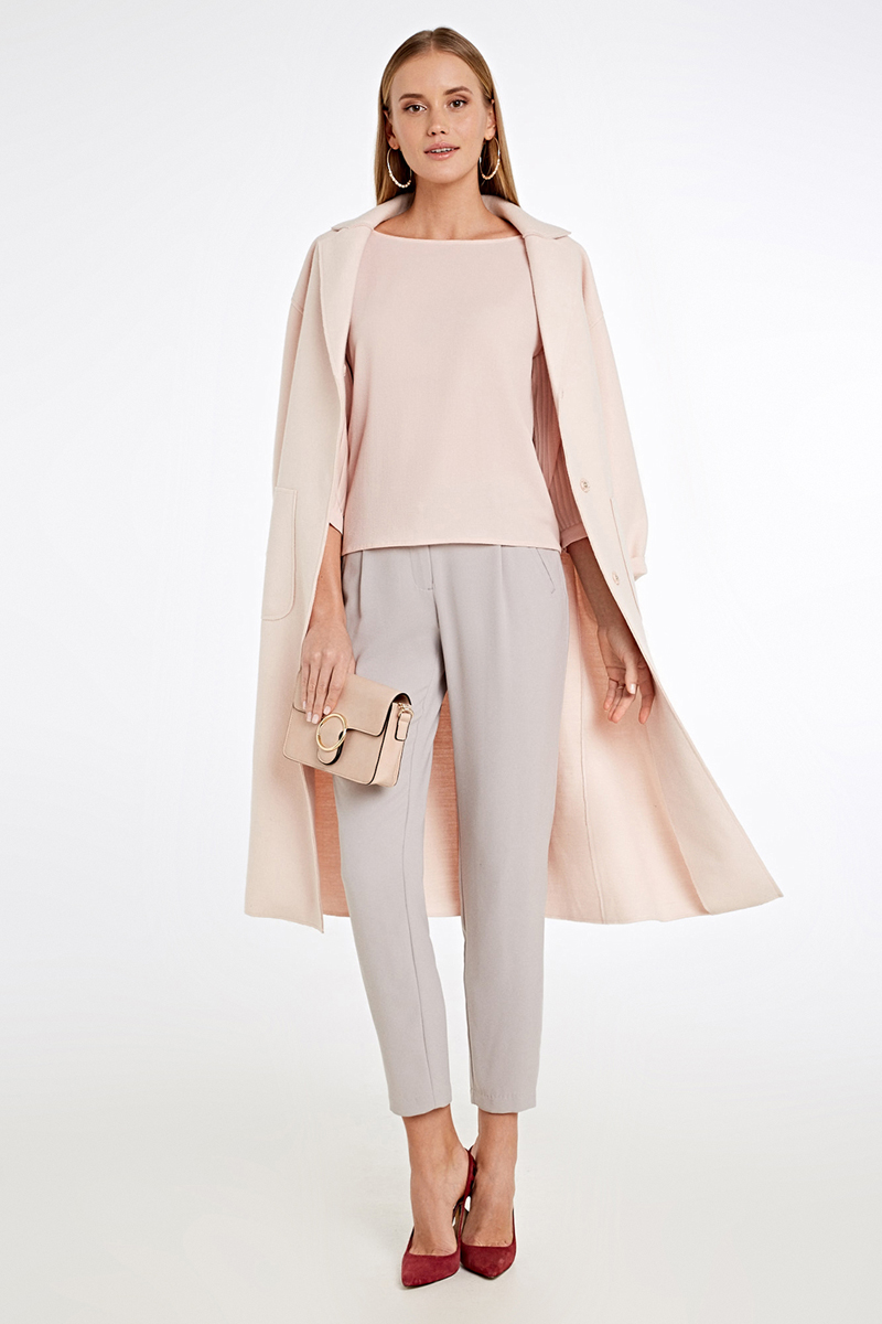 Блузка женская Concept Club Lissa, цвет: кремовый. 10200260231_9100. Размер XL (50)