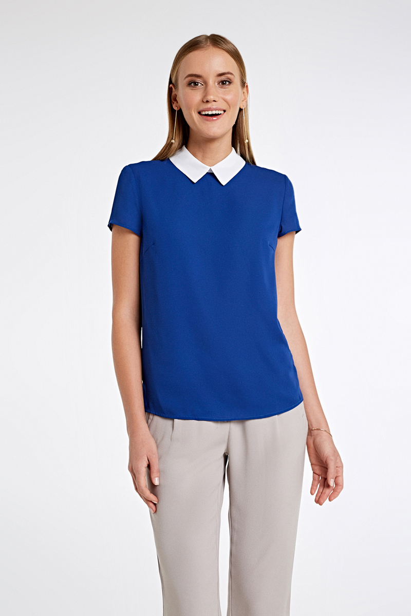 Блузка женская Concept Club Peregri, цвет: синий. 10200270155_500. Размер M (46) блузка quelle concept club 1034758