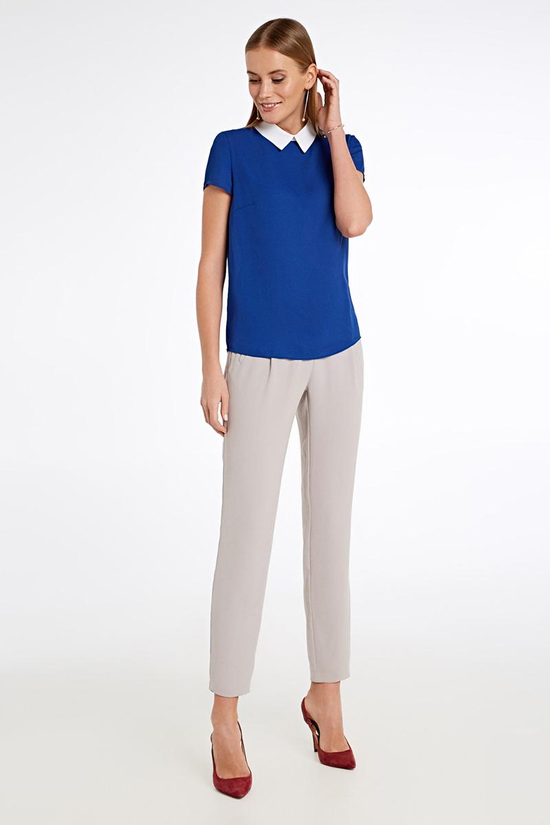 Блузка женская Concept Club Peregri, цвет: синий. 10200270155_500. Размер XS (42)10200270155_500