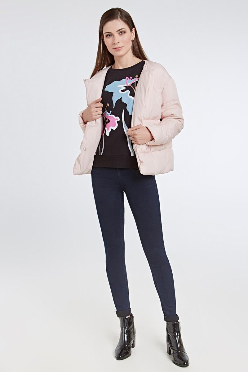 Куртка женская Concept Club Palau, цвет: светло-розовый. 10200130138_3400. Размер L (48)10200130138_3400Легкая женская куртка от Concept Club с утеплителем выполнена из полиэстера. Модель свободного кроя с круглым вырезом горловины застегивается на кнопки. Такая модная и функциональная куртка займет достойное место в ващем гардеробе.
