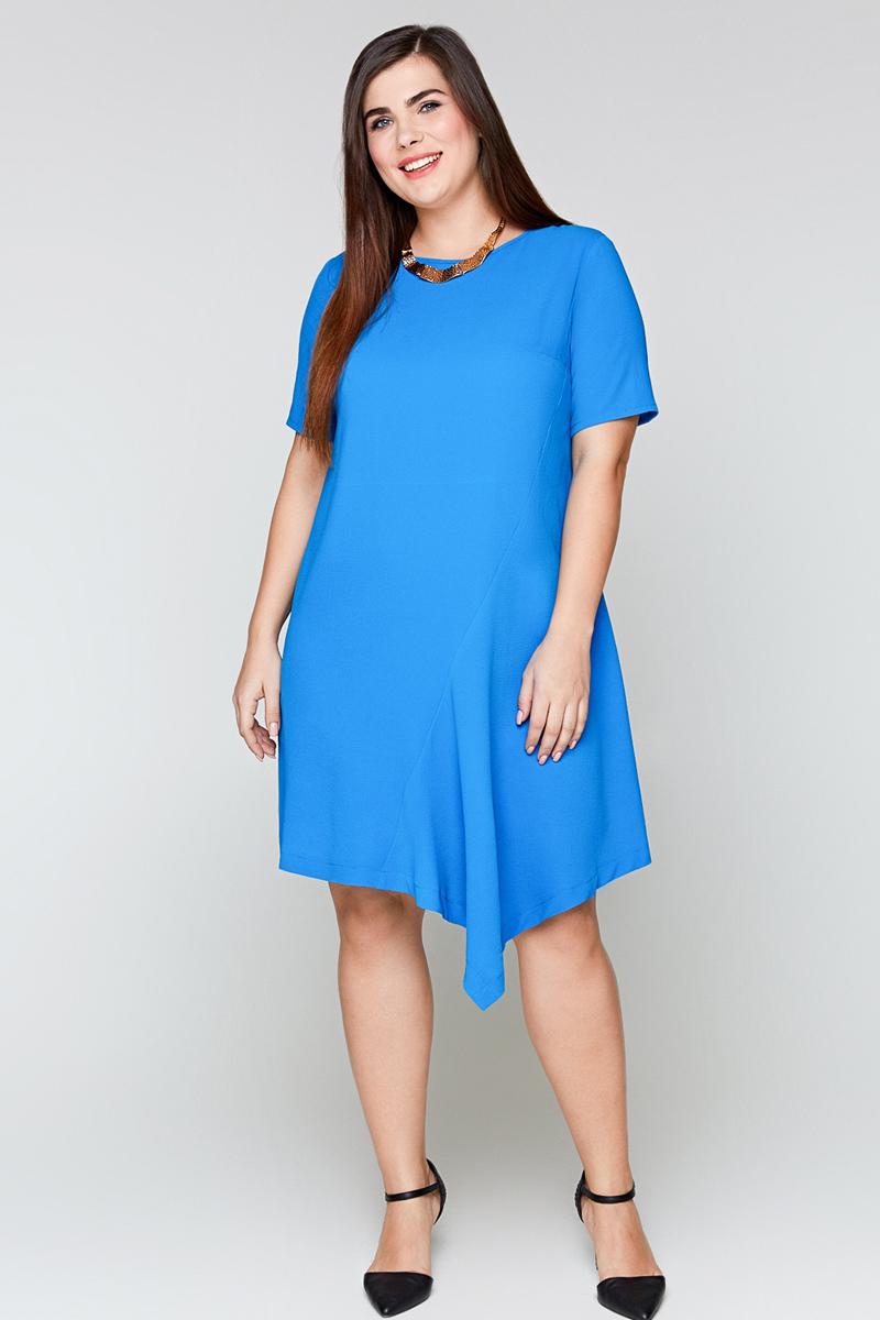 Платье Bestia Donna Sage_w, цвет: синий. 41200200110_500. Размер 56 блуза bestia bestia be032ewmth50