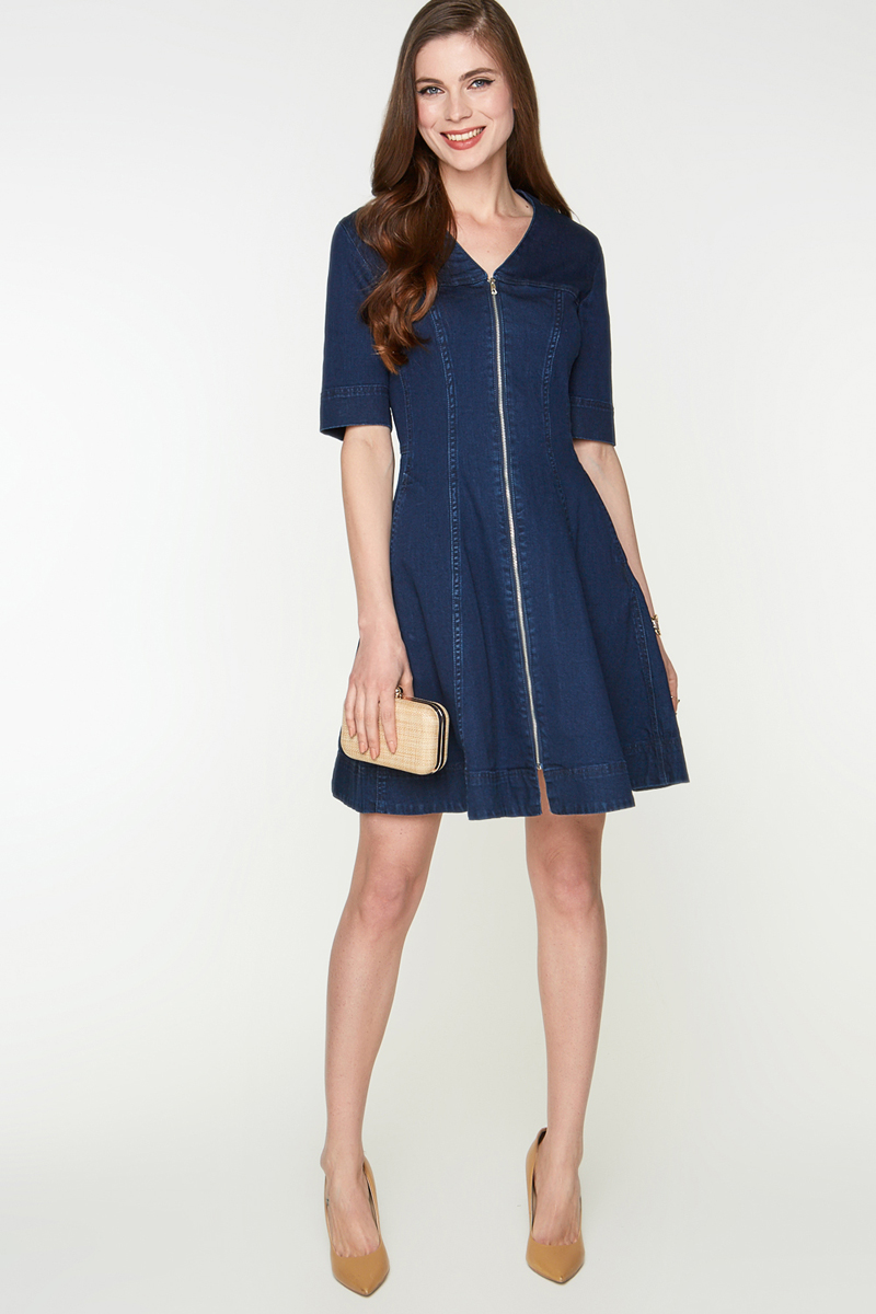 Платье Bestia Willy_B, цвет: темно-синий. 40200200300_600. Размер M (46)40200200300_600