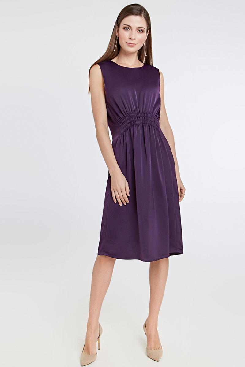 Платье Concept Club Dana, цвет: сливовый. 10200200432_2700. Размер XL (50)