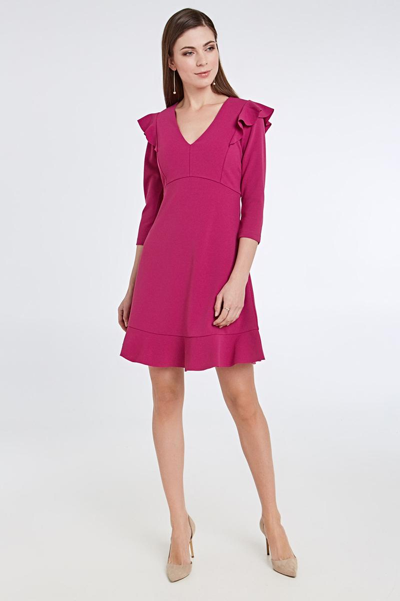 Платье Concept Club Helm, цвет: сливовый. 10200200423_2700. Размер S (44)10200200423_2700