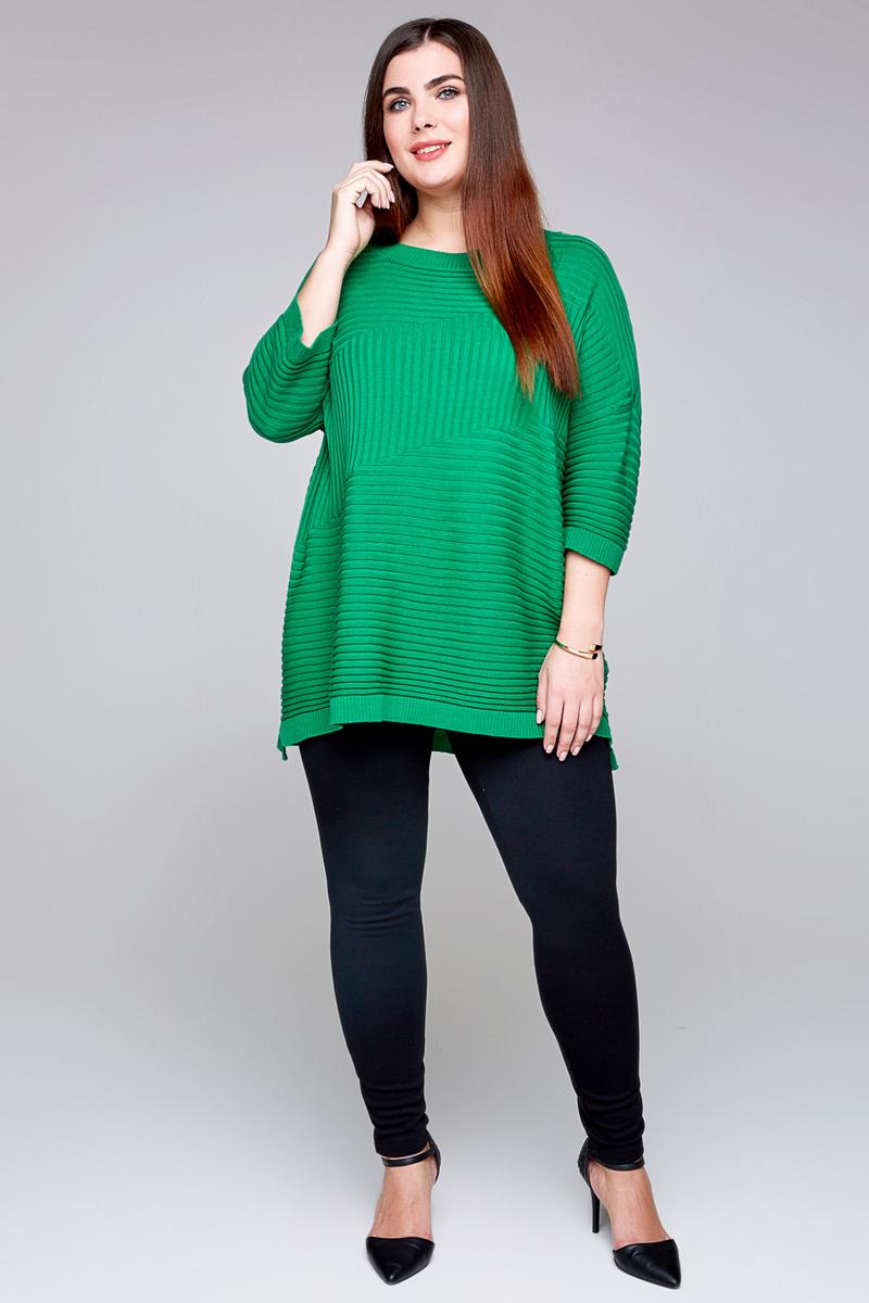 Свитер женский Bestia Donna Moris1_w, цвет: зеленый. 41200320003_2300. Размер 5441200320003_2300