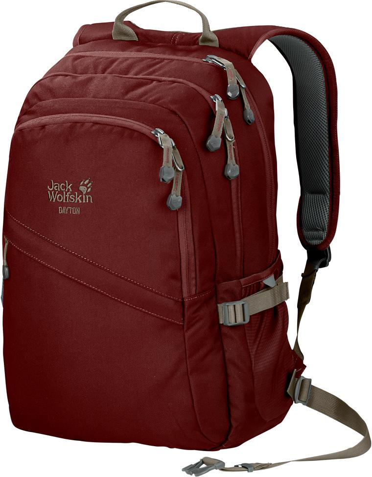 Рюкзак городской Jack Wolfskin Dayton, цвет: бордовый. 2002481-2029 снуд jack wolfskin jack wolfskin ja021guwha98