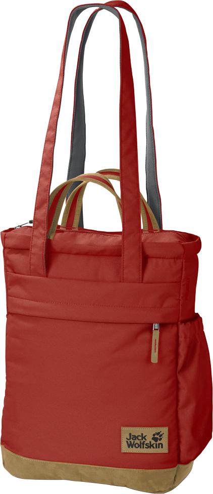 Сумка-рюкзак Jack Wolfskin Piccadilly, цвет: оранжевый. 2004003-3740 сумки jack wolfskin сумка cross run 2