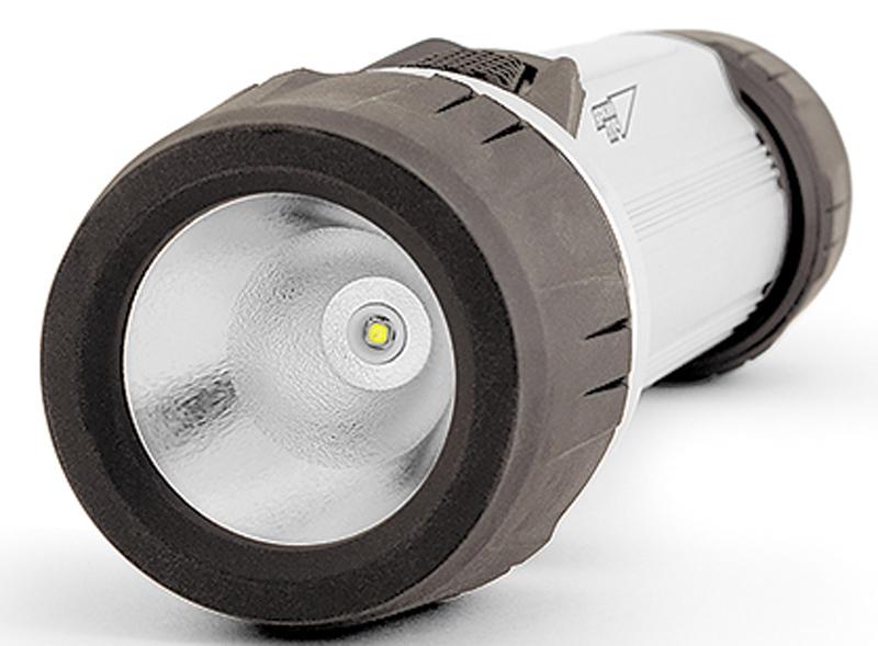 Фонарь ручной Яркий луч SilverLine S-1404606400001485Многофункциональный фонарь с дополнительным светодиодом «Cob» и встроенныммагнитом. - Основной 3 Вт светодиод 140 лм; - Дополнительный светодиод «COB» 3 Вт 100 лм; - Два режима работы; - Встроенный магнит в крышке; - Работа от 2-х батареек типоразмера D (в комплект не входят); - Боковая кнопка включения (можно включить даже в перчатках); - Крепкий корпус: алюминий, ABS-пластик и резина. Два режима работы: «Прожектор»: 3 Вт светодиод (140 лм) обеспечит направленным светом дальнего действия,время работы – до 13 часов. «Кемпинг»: 3 Вт (100 лм) светодиод «Сob» – рассеянный свет для местного освещения,время работы (макс) – до 15 часов. Включается нажатиеми удержанием (мин. 2 сек) кнопки включения. Сильный магнит позволит закрепить фонарь на металлической поверхности под любымуглом для удобства работы.