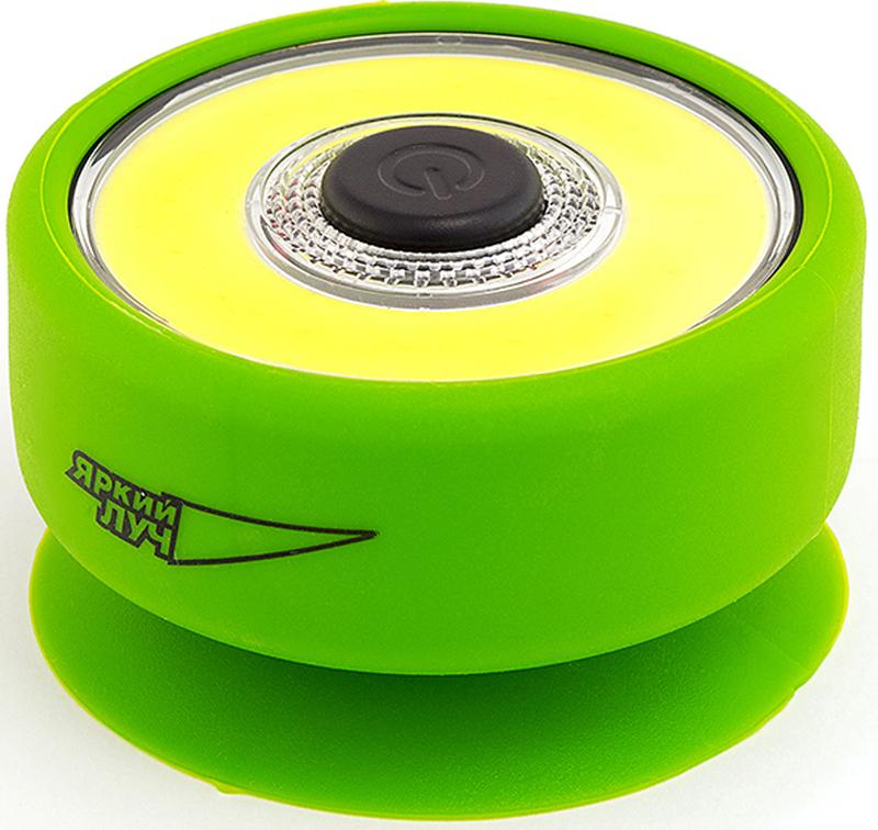 """Фонарь кемпинговый Яркий луч """"Лягушка L-210"""", цвет: зеленый, 7,3 х 4,3 см"""