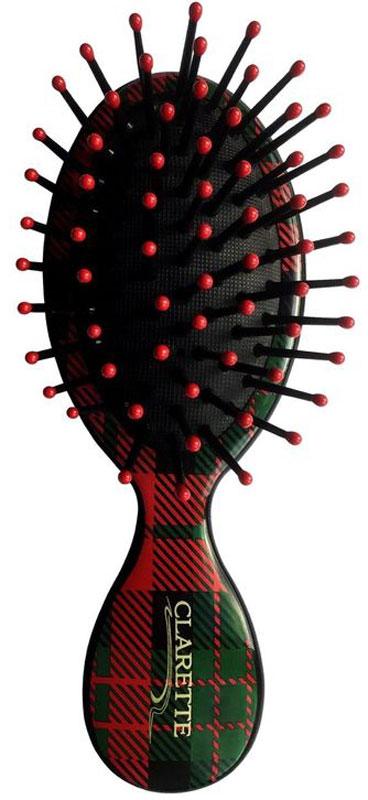 Clarette Щетка для волос мини с пластиковыми зубьями. CFB 689CFB 689Коллекция Сlarette Шотландская Клетка представляет щетки и расчески для волос, классической расцветки на все случаи жизни, которая уже давно и основательно вошла в моду. Такая щетка для волос или расческа может стать как дополнением общего клетчатого образа, так и акцентом для нейтрального варианта. Пластиковые зубья с массажными шариками обеспечивают массаж головы , стимулируя рост волос. Удобна в дороге.