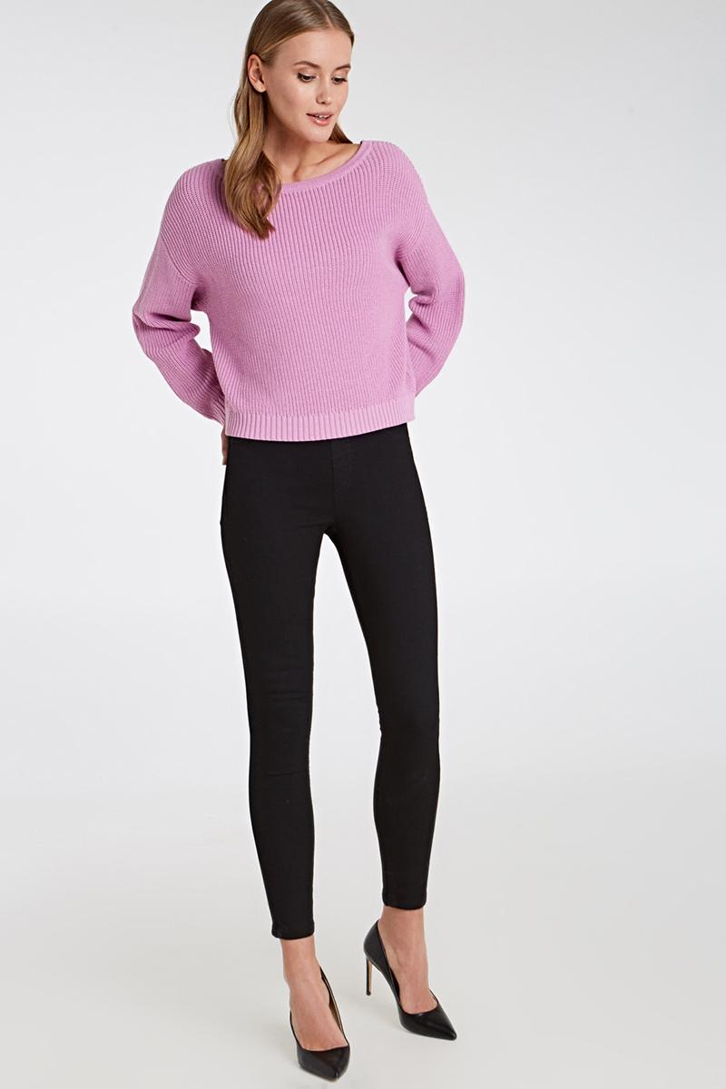 Джемпер женский Concept Club Orient, цвет: светло-розовый. 10200310166_3400. Размер S (44)10200310166_3400Джемпер женский Concept Club Orient выполнен из хлопка. Модель с круглым вырезом горловины и длинными рукавами.