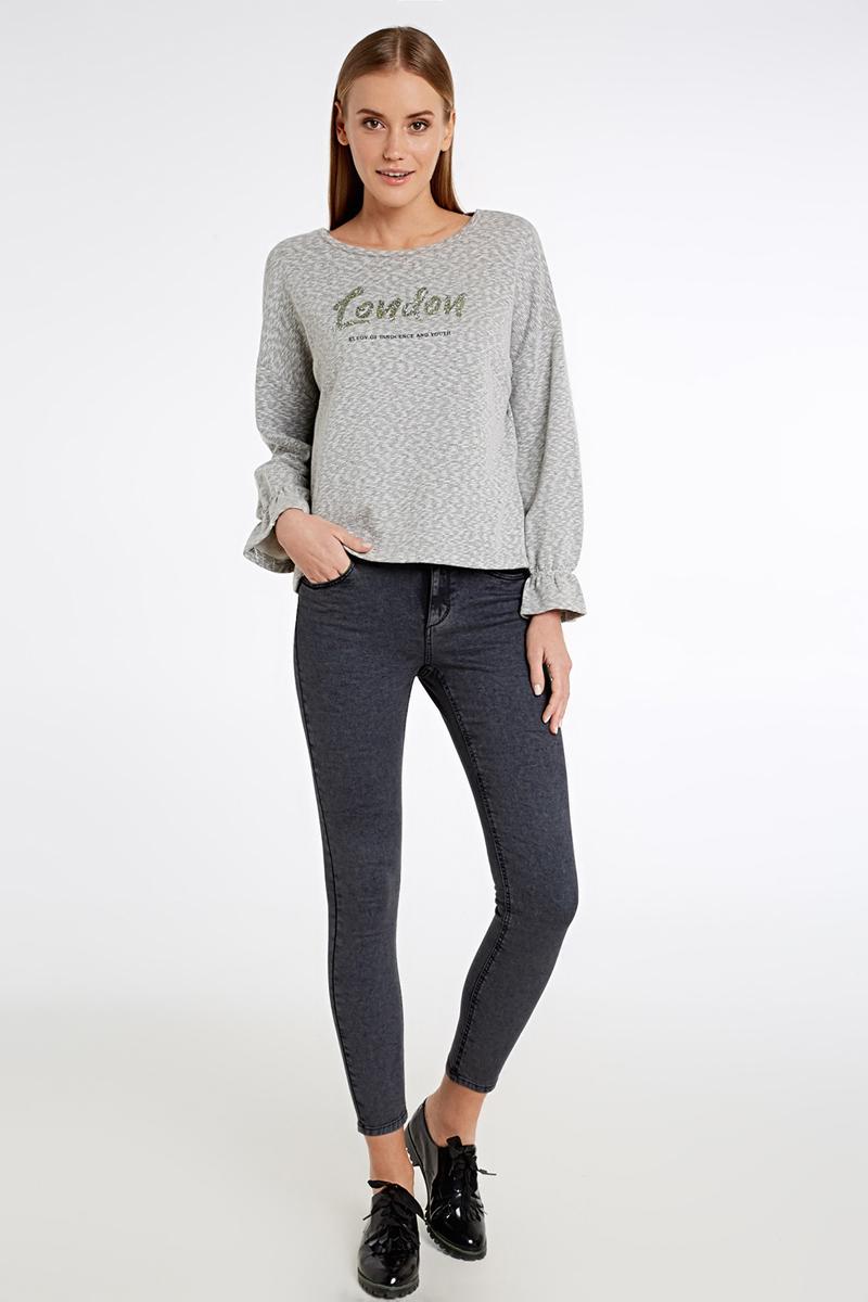 Джемпер женский Concept Club Seul, цвет: серый. 10200170071_1900. Размер XL (50) цена