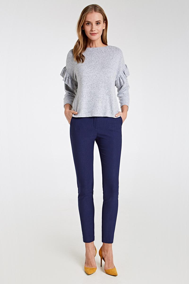 Брюки женские Concept Club Ralen, цвет: темно-синий. 10200160284_600. Размер M (46)10200160284_600Стильные женские брюки Concept Club Ralen изготовлены из качественного материала. Застегиваются брюки на комбинированную застежку.