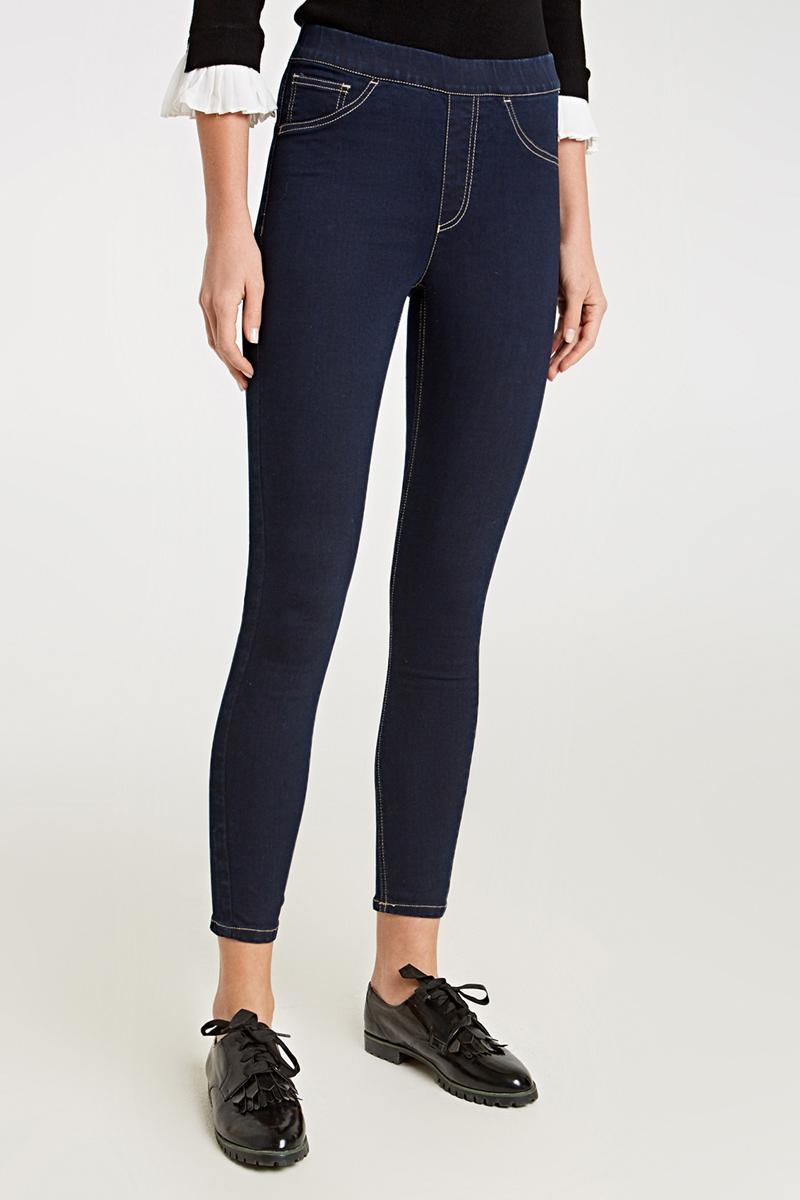 Джинсы женские Concept Club Veghel 2SS18, цвет: глубокий синий. 10200160277_8600. Размер M (46) джинсы женские concept club цвет черный 10200160279 100 размер xl 50