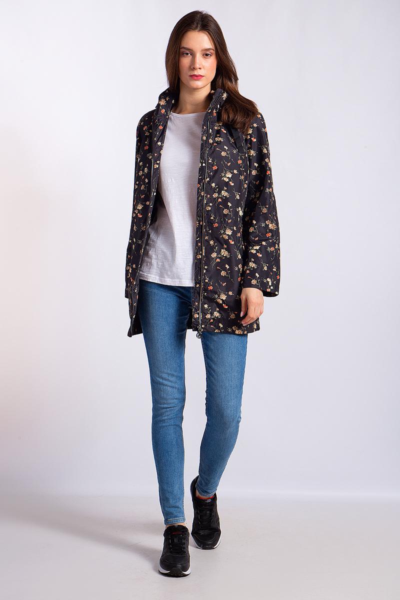Купить Куртка женская Finn Flare, цвет: черный. B18-11018_200. Размер M (46)
