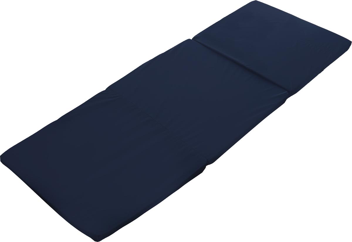 """Складной матрас Торис """"Рест"""" с наполнителем из синтетического материала Эргофоам и покрытием из прочной  непромокаемой ткани обеспечит комфортный сон. Компактное сложение и удобная ручка позволяют  транспортировать матрас в автомобиле,  хранить его в шкафу и легко переносить в руках. Уход: не стирать, не гладить, не отбеливать,  химическая чистка изделия может производиться с применением тетрахлорэтилена (перхлорэтилена), бензина,  трифтортрихлорэтилена, или моно-фтортрихлорметана с применением обычных процессов обработки.    Как выбрать матрас. Статья OZON Гид"""