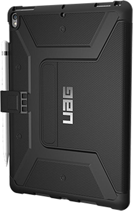 UAG Metropolis чехол для iPad Pro 10,5, BlackIPDP10.5-E-BKСпециальный защитный чехол для iPad подойдет для людей, которые хотят получить максимальную защиту для своего устройства. Чехол изготовлен изсовременных, легких ипрочных материалов: поликарбоната иполиуретана.
