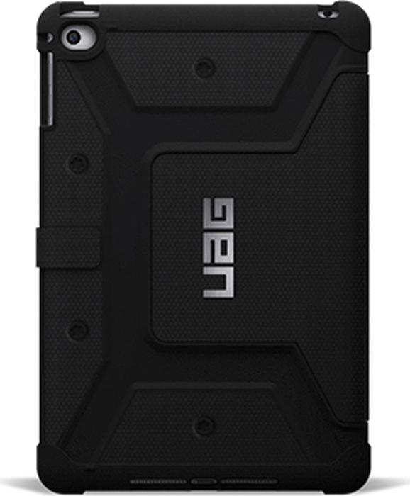 UAG чехол для iPad mini 4, Black uag iphone7 4 7 дюйма падение сопротивления mobile shell чехол для apple iphone7 iphone6s iphone6 алмазный желтый бриллиант