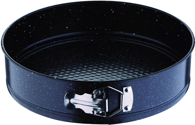 Форма для выпечки Rainstahl, разъемная, с антипригарным покрытием, диаметр 24 см9713 RS\BTФорма для выпечки Rainstahl изготовлена из углеродистойстали с антипригарным покрытием на всей поверхности.Благодаря антипригарному покрытию нет необходимостииспользовать подсолнечное масло - пища не пригорает и неприлипает к стенкам. Специальный разъемный механизмпозволяет легко вынимать готовое блюдо, при этомсохраняется аккуратный внешний вид.Такая форма прослужит долго и обеспечит легкое и удобноеприготовление выпечки.