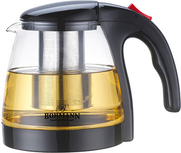 Чайник заварочный Bohmann, 1,3 л. 9673BH чайник bohmann bhl 642 gdo