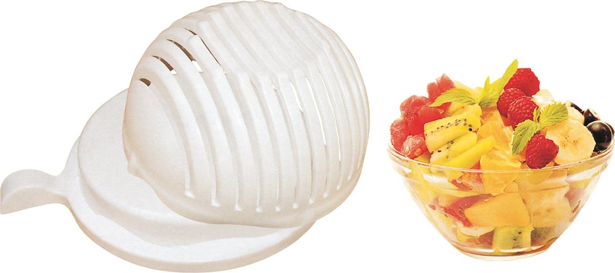 Миска Bohmann, цвет: прозрачный. 7768BH7768BHПластиковая миска с подставкой. Специальные отверстия для нарезки овощей и фруктов.