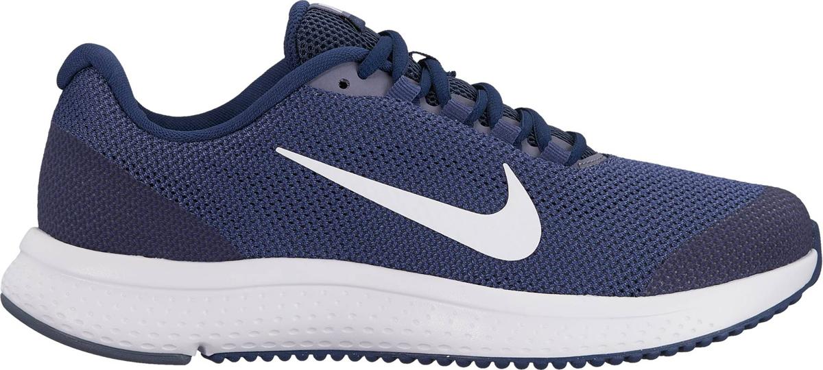Кроссовки для бега женские Nike Run All Day, цвет: синий. 898484-400. Размер 8,5 (39)898484-400Женские беговые кроссовки Run All Day от Nike обеспечивают амортизацию и комфорт на любой дистанции. Система шнуровки в средней части стопы надежно фиксирует стопу, а подметка из мягкой резины и подошва из материала Phylon обеспечивают адаптивную амортизацию. Мягкий бортик обеспечивает дополнительный комфорт. Инжектированная подошва из материала Phylon для адаптивной амортизации. Сетка верха Engineered Mesh обеспечивает вентиляцию и поддержку в ключевых зонах. Вафельная подметка из мягкой резины для надежного сцепления с различными поверхностями.