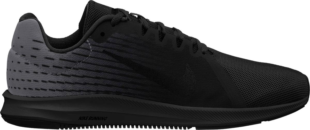 Кроссовки для бега мужские Nike Downshifter 8, цвет: черный. 908984-002. Размер 12,5 (46)