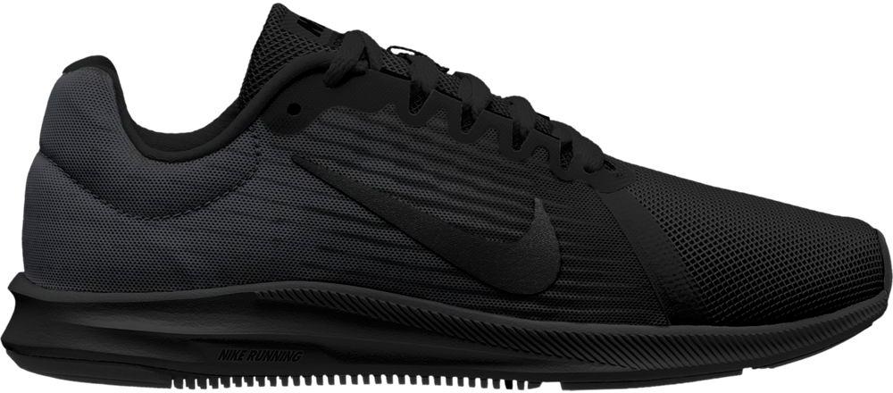Кроссовки для бега женские Nike Downshifter 8, цвет: черный. 908994-002. Размер 10 (41)908994-002Женские беговые кроссовки Downshifter 8 от Nike в минималистичном стиле выполнены из легкой однослойной сетки с обновленной амортизирующей стелькой, еще более мягкой, чем в предыдущих версиях. В сочетании с ремешком в области свода стопы, объединенным со шнурками, это обеспечивает индивидуальную посадку и плавный переход с пятки на носок. Верх из легкой сетки обеспечивает вентиляцию и комфорт. Регулируемый ремешок в области свода стопы обеспечивает индивидуальную посадку. Обновленная промежуточная подошва для мягкой и упругой амортизации. Рельефная конструкция внутренней части для безупречной посадки и удобного обувания. Эластичная полноразмерная подошва из материала Phylon обеспечивает упругую и легкую амортизацию, ее обновленная версия превосходит предшествующие по мягкости. Перепад: 10 мм (носок 13 мм, пятка 23 мм). Колодка: MR-10.