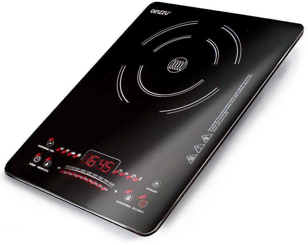 Ginzzu HCI-161, Black индукционная настольная плита - Настольные плиты