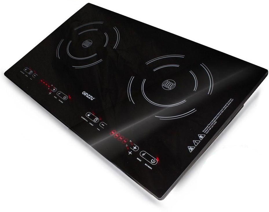 Ginzzu HCI-243, Black индукционная настольная плита - Настольные плиты