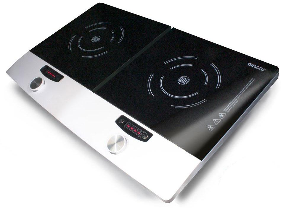 Ginzzu HCI-226, Black индукционная настольная плитаHCI-226Мощность 3400 Вт. Механическое управление. Защита от перегрева.
