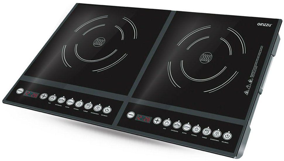 Ginzzu HCI-213, Black индукционная настольная плита - Настольные плиты