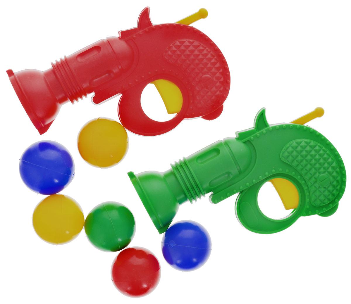 Пластмастер Игровой набор Пистолеты с шариками