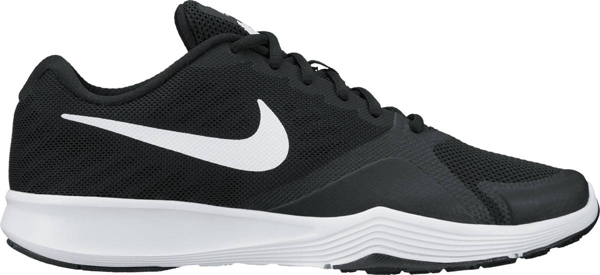 Кроссовки для фитнеса женские Nike City Trainer, цвет: черный. 909013-001. Размер 7 (37)909013-001Стильные женские кроссовки Nike, выполненные из текстиля и пластика, дополнены фирменной нашивкой на язычке. Шнуровка на подъеме надежно зафиксирует обувь на ноге. Внутренняя поверхность и стелька выполнены из текстиля, комфортны при движении. Эти кроссовки созданы с непревзойденной функциональностью в движении. Они идеально подходят для циклических и интенсивных кардиотренировок. Верх из однослойной сетки для воздухопроницаемости без утяжеления. Подошва обеспечивает легкость, амортизацию, гибкость и стабилизацию. Резиновые накладки в ключевых зонах обеспечивают прочность и сцепление при движении в любом направлении. Удобная стелька создает дополнительную амортизацию. Эластичные желобки в передней части стопы для повышенной гибкости в области носка. Подошва с рифлением обеспечивает отличное сцепление на любой поверхности. Мягкие и удобные, кроссовки превосходно подчеркнут ваш спортивный образ и подарят комфорт.