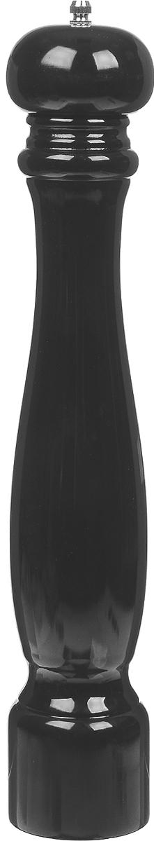 Измельчитель перца Kesper, высота 40 см. 1366-51366-5Измельчитель для перца Kesper, изготовленный из высококачественной древесины, легок в использовании. Стоит только покрутить верхнюю часть изделия, и вы с легкостью сможете поперчить по своему вкусу любое блюдо. Механизм мельницы изготовлен из высококачественного металла. Изделие устойчиво к механическим воздействиям, не впитывает влагу и запахи, не рассыхается и не трескается.Выбирая для своей кухни деревянные аксессуары, вы получаете безопасность для здоровья вашей семьи и эстетику деревянной посуды.