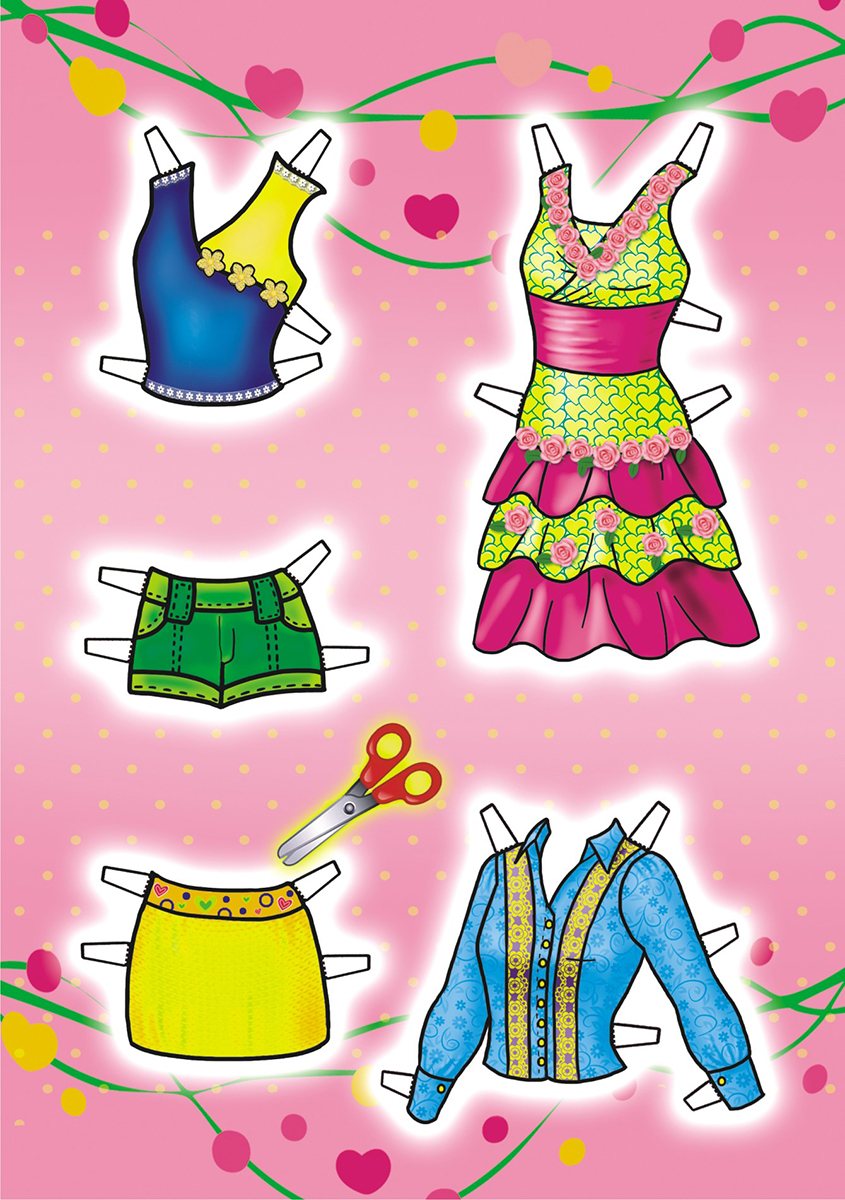 ЛиС Набор для изготовления игрушек Одень куклу Юная модница ОВ-025 ЛиС