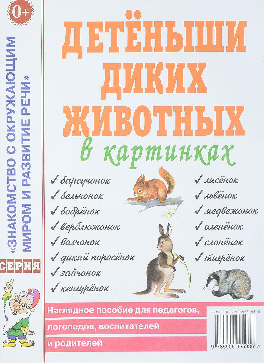 Фото - Детеныши диких животных в картинках. Наглядное пособие для педагогов, логопедов, воспитателей и родителей детеныши животных