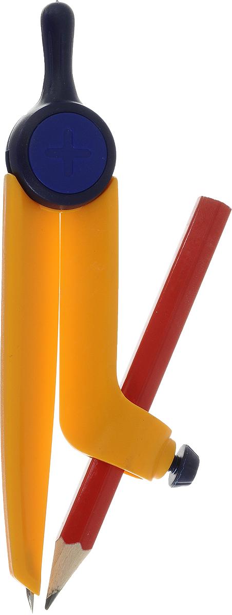 Perfecta Циркуль Козья ножка цвет желтый 11,2 смС3121-02_желтый;С3121-02_желтыйPerfecta Циркуль Козья ножка цвет желтый 11,2 см