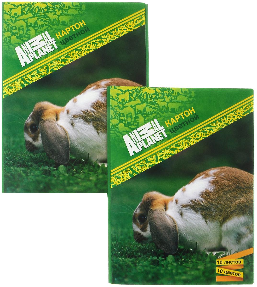 Action! Набор цветной бумаги Кролик мелованная 10 листов 2 штAP-CCP-10/10_кроликНабор цветной бумаги Action! Animal Planet позволит вашему ребенку создавать всевозможные аппликации и поделки. Набор содержит 10листов цветной бумаги формата А4. Листы упакованы в оригинальную картонную папку, оформленную в тематике Animal Planet. Созданиеподелок из картона и бумаги поможет ребенку в развитии творческих способностей, кроме того, это увлекательный досуг.В комплекте 2набора по 10 листов.Рекомендуемый возраст от 6 лет.