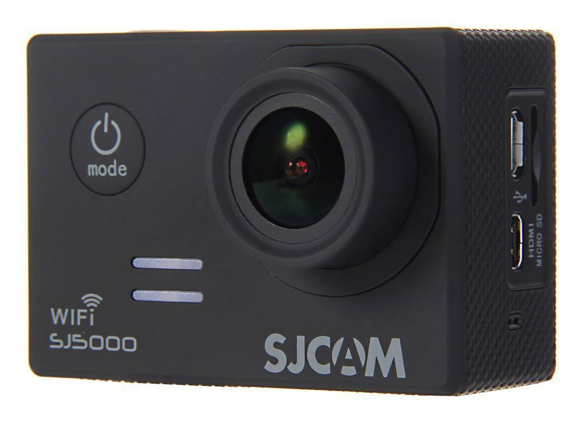 SJCAM SJ5000 WiFi, Black экшн-камера sjcam sj5000 plus hd action camera with wi fi – gold