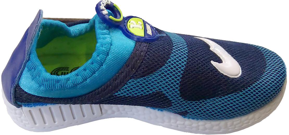 Кроссовки детские GFB, цвет: голубой. G89. Размер 22G89Детские кроссовки от GFB без шнуровки выполнены из дышащего текстиля. Подкладка и стелька из текстиля гарантируют комфорт при носке. Гибкая и легкая подошва, выполненная из ПВХ, долговечна и обеспечивает высокую устойчивость к деформациям.