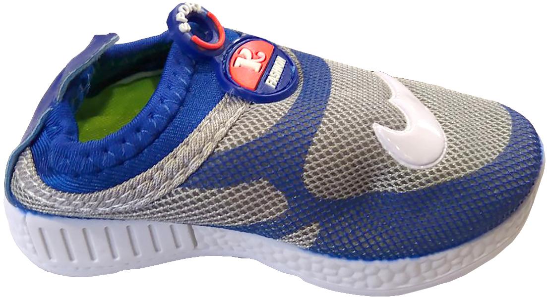 Кроссовки детские GFB, цвет: синий. G89. Размер 24G89Детские кроссовки от GFB без шнуровки выполнены из дышащего текстиля. Подкладка и стелька из текстиля гарантируют комфорт при носке. Гибкая и легкая подошва, выполненная из ПВХ, долговечна и обеспечивает высокую устойчивость к деформациям.